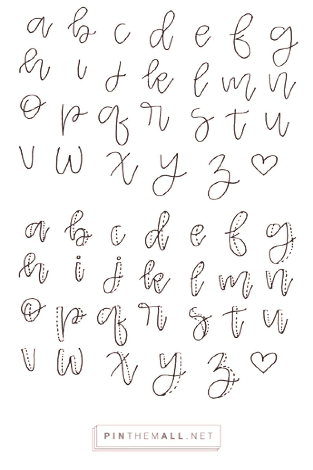 1. exaggerated cursive 2. thicken the downstrokes 3. color it in ☺️ 1. exaggerated cursive 2. t