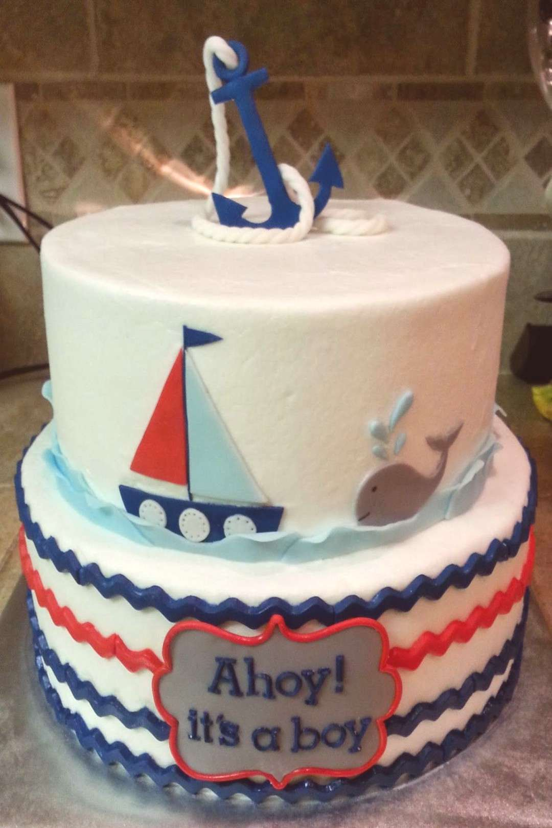104++ reference of baby boy nautical shower cakes baby boy nautical shower cakes-#baby Please Click