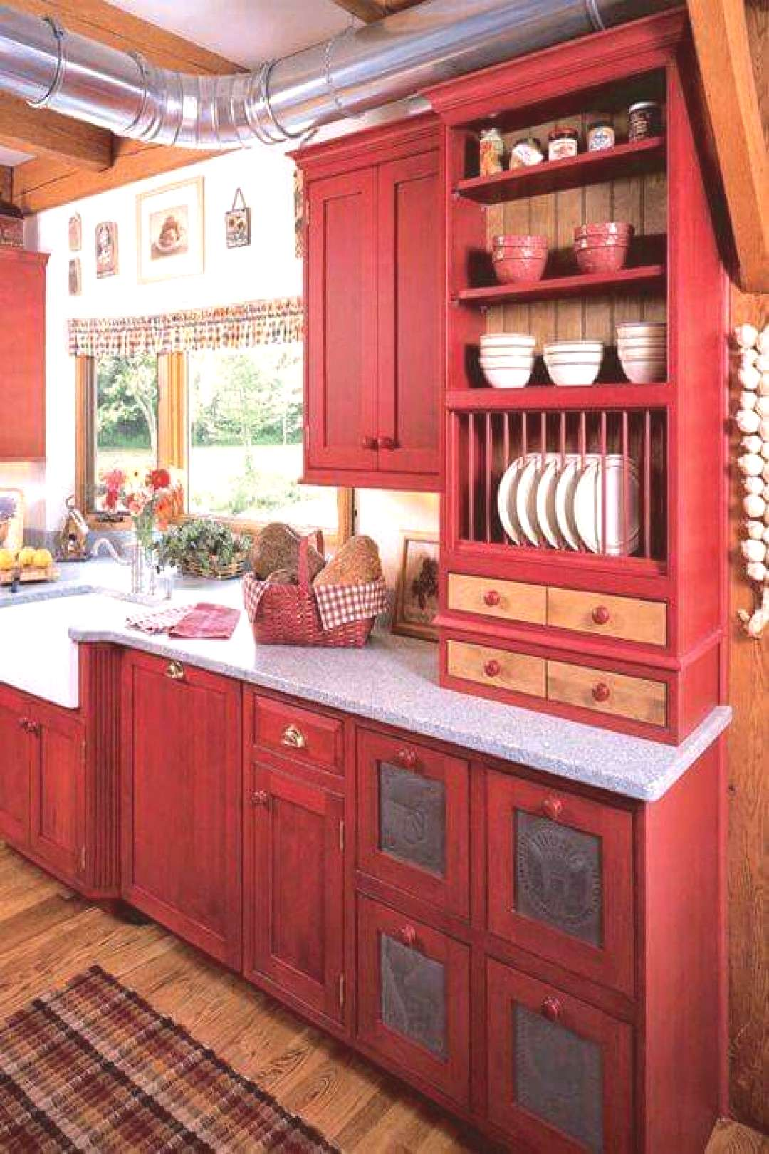 11 Painted Kitchen Cabinets that Look Surprisingly Professional  - Ideal Conditions Heating a... 11