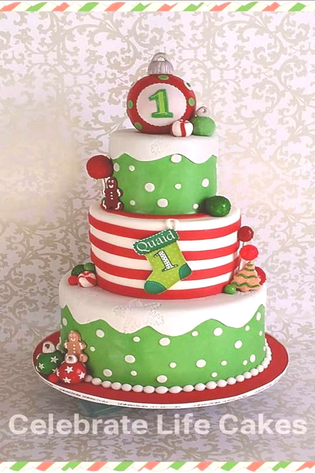 13+ Christmas Party Cakes! If youre looking for inspiration for your Christmas themed party, click