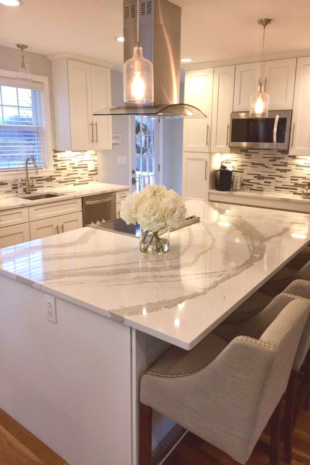 +27 A Review Of White Kitchen Cabinets With Granite Countertops Quartz Counter 58 - walmartby... +2