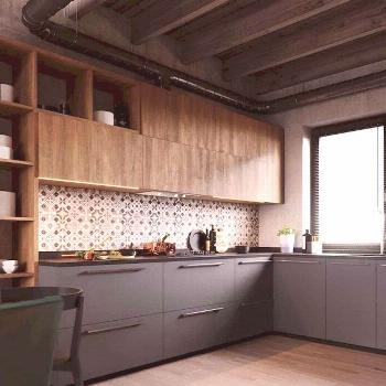 60 Lovely Painted Kitchen Cabinets Two Tone Design Ideas 60 Lovely Painted Kitchen Cabinets Two Ton