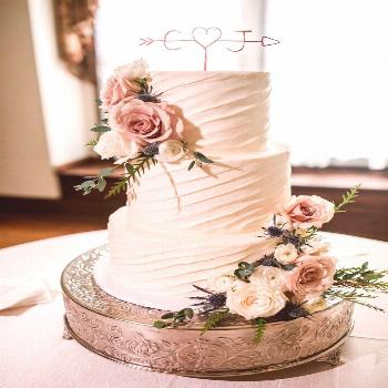 Arrow & Initials Cake Topper Rustic Wire Personalized Custom Chic Name Wedding Heart Reusable Metal