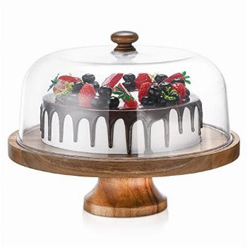 Cake Stand with Dome,11.8