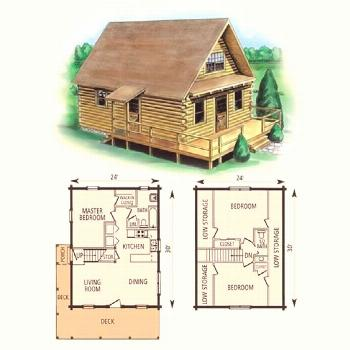 Perfect Small Cabin Plans Free Gallery