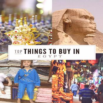 Want to know the top things to buy in Egypt? Whether you are visiting Luxor or Cairo or the beaches