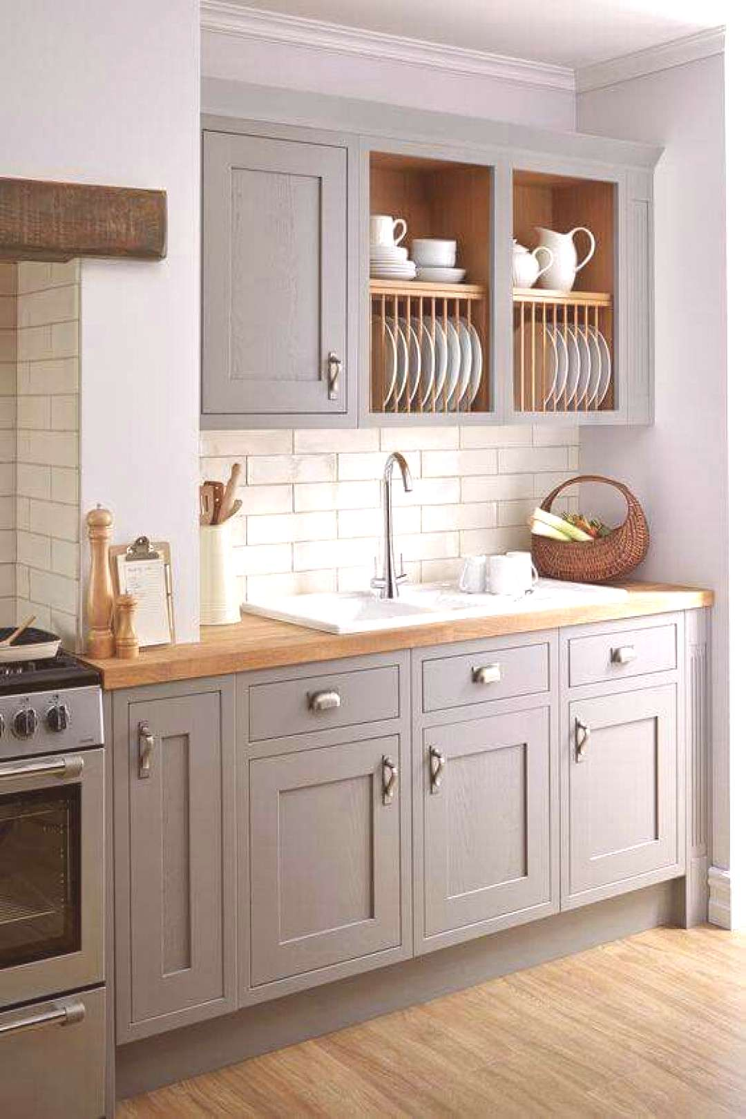 49 light grey kitchen cabinets click for more ... light grey kitchen cabinets with butcher block co
