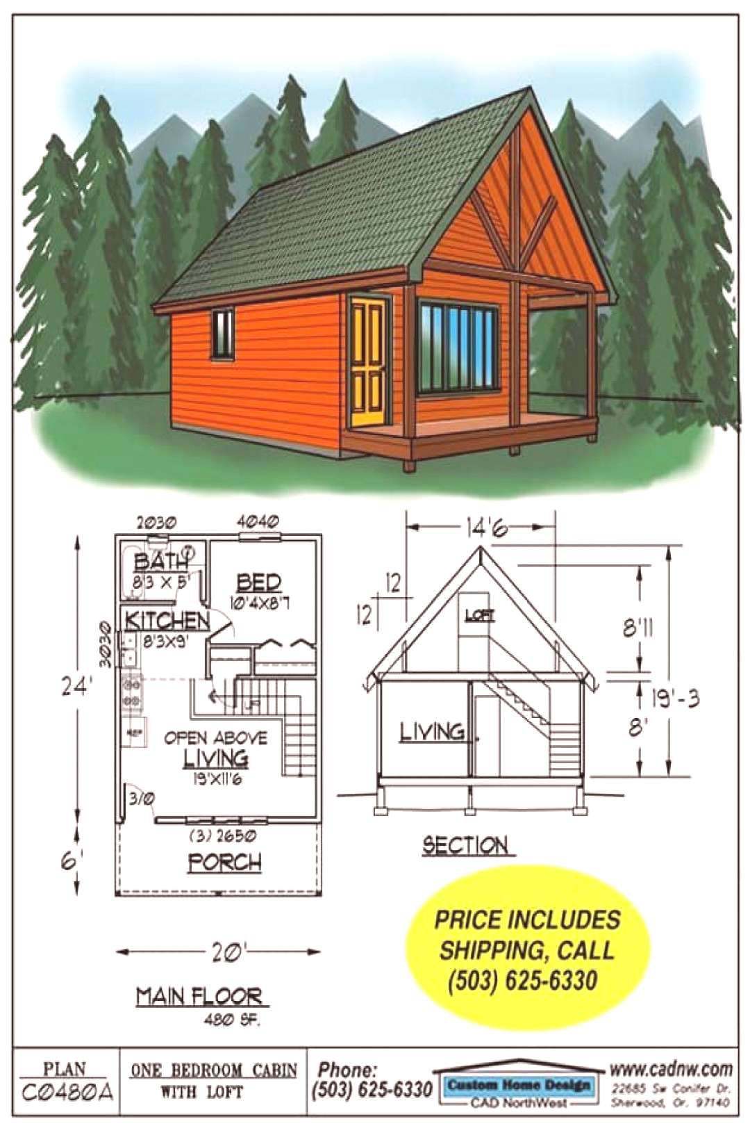52 Free DIY Cabin And Tiny Home Blueprints