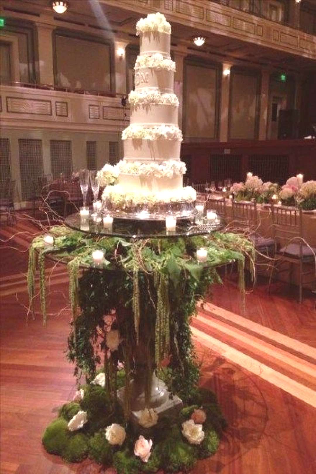 97 Woodland Themed Wedding Ideas and Cakes To Stand Out 27 Best Ideas garden wedding cake awesome