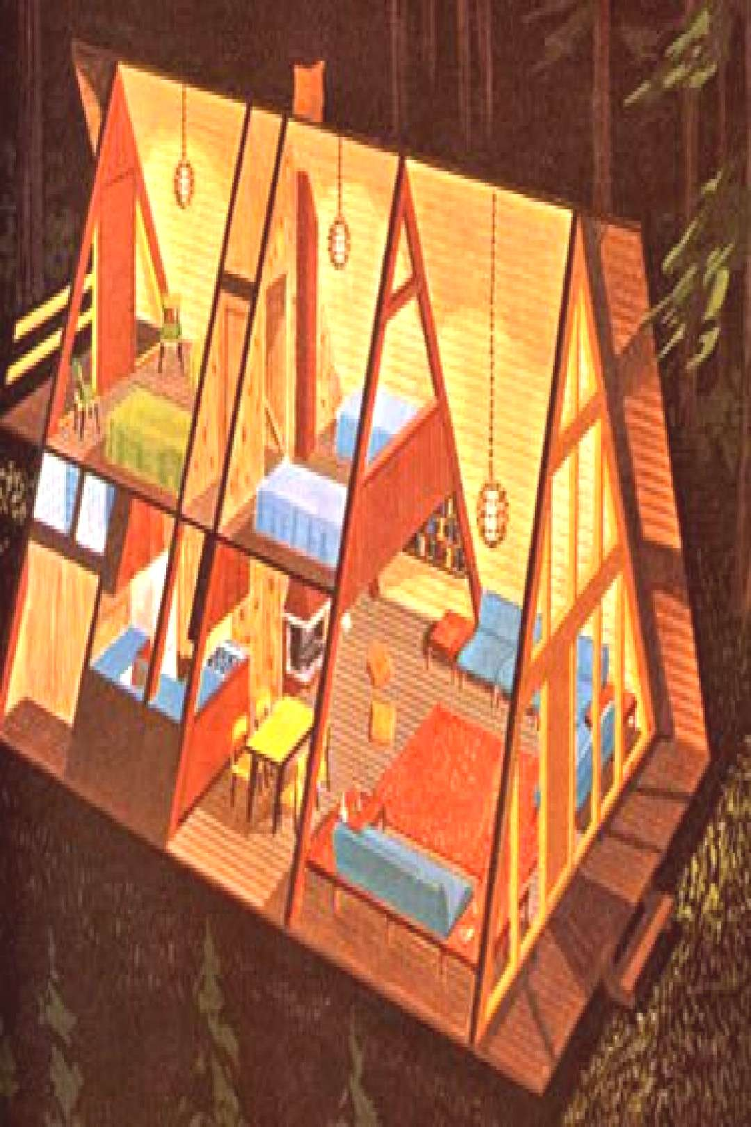a frame house from the 1960s | a frame house from potlatch h… | Flickr