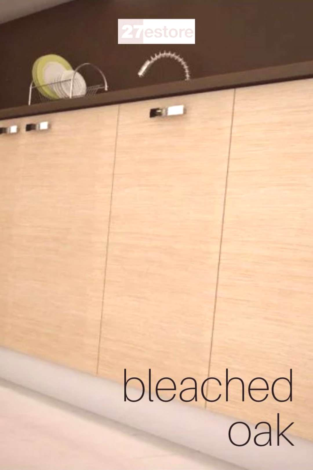 BLEACHED OAK CABINET DOORS This is what we call contemporary elegance at highest quality standards!