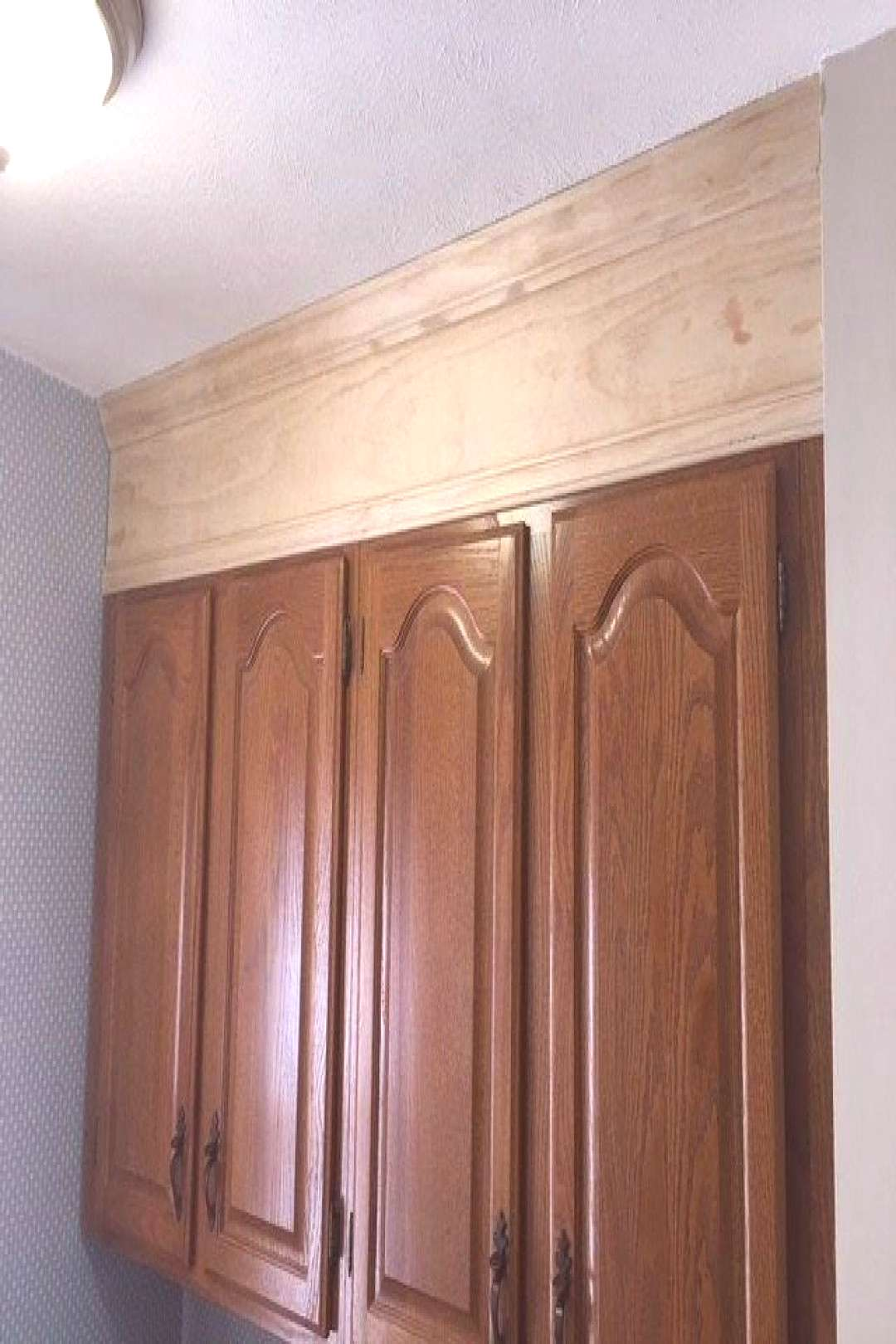 Cabinets to ceiling - Kitchen cabinets to ceiling - Kitchen soffit - Above ki...#cabinets