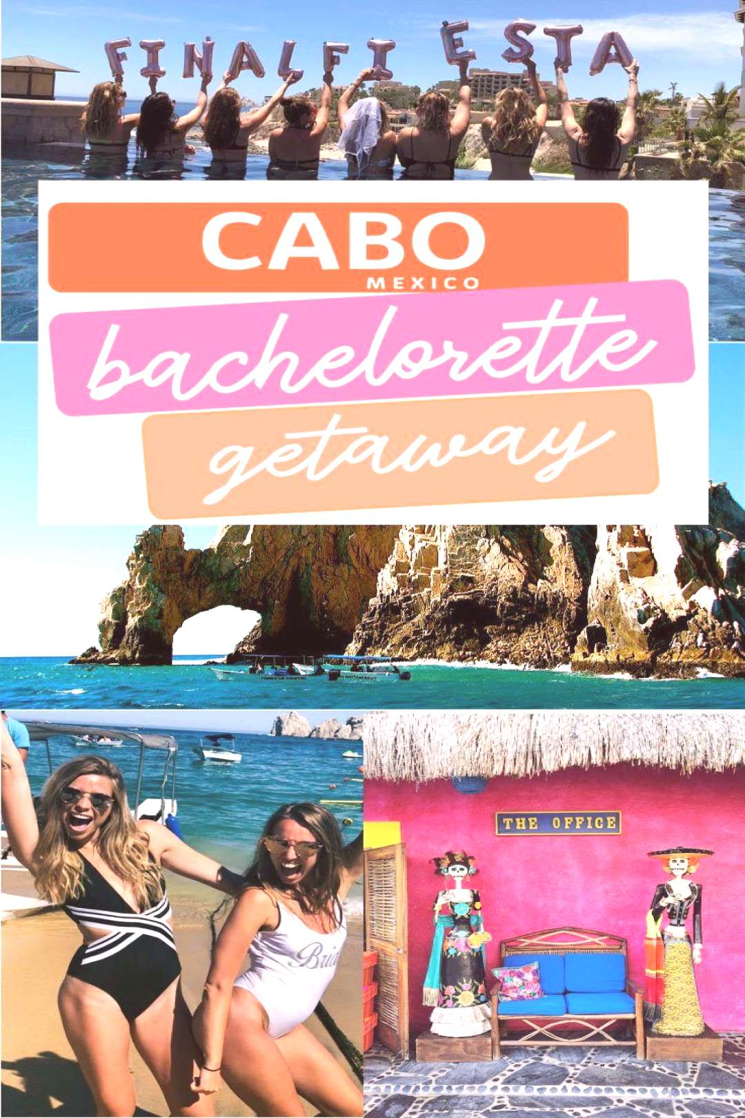 Cabo Bachelorette Party Weekend - Cabo Bachelorette Party Recap. Bachelorette Party ideas for Cabo