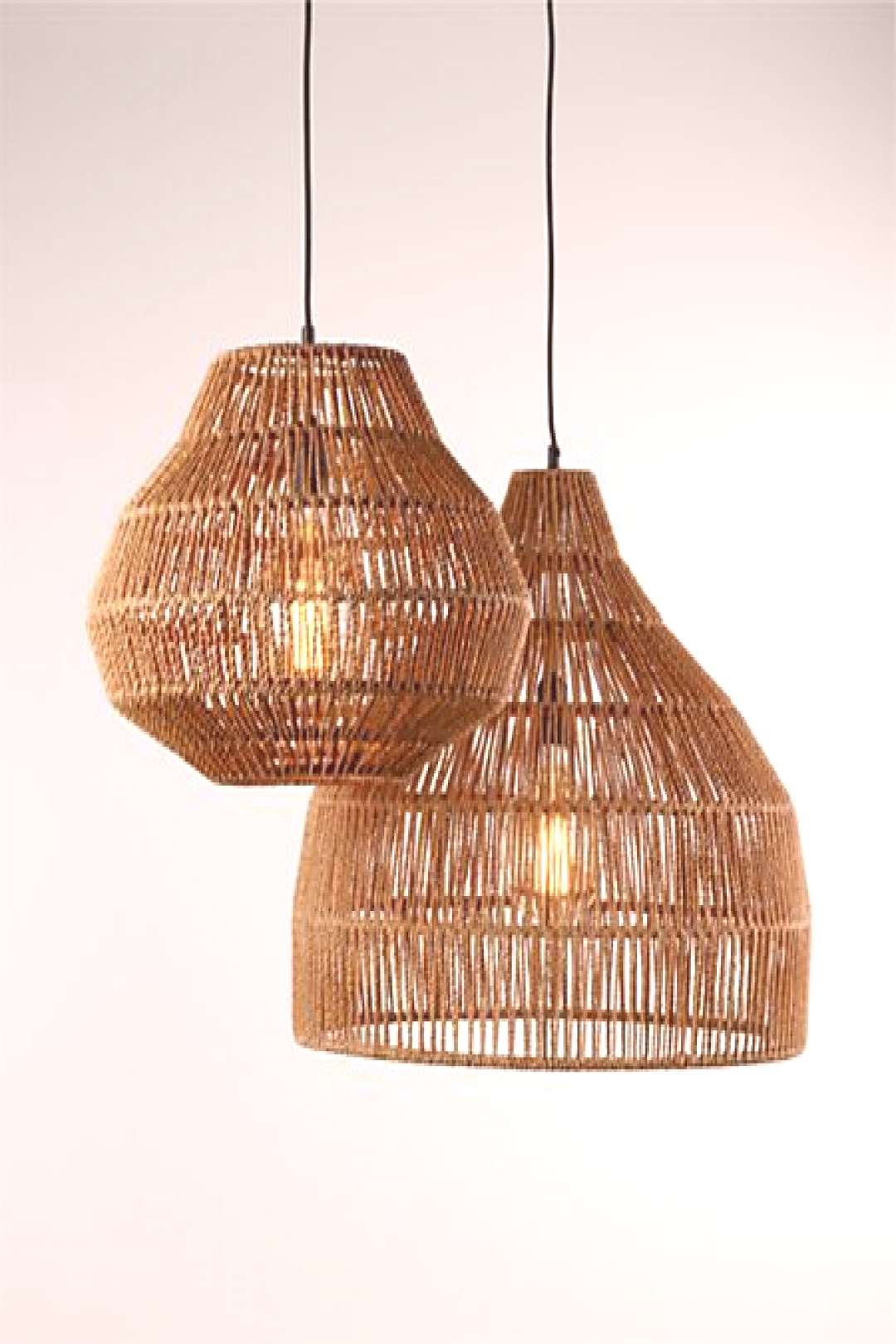 Cabo Small Woven Pendant Light + Reviews | Crate and Barrel Cabo Small Woven Pendant Light + Review