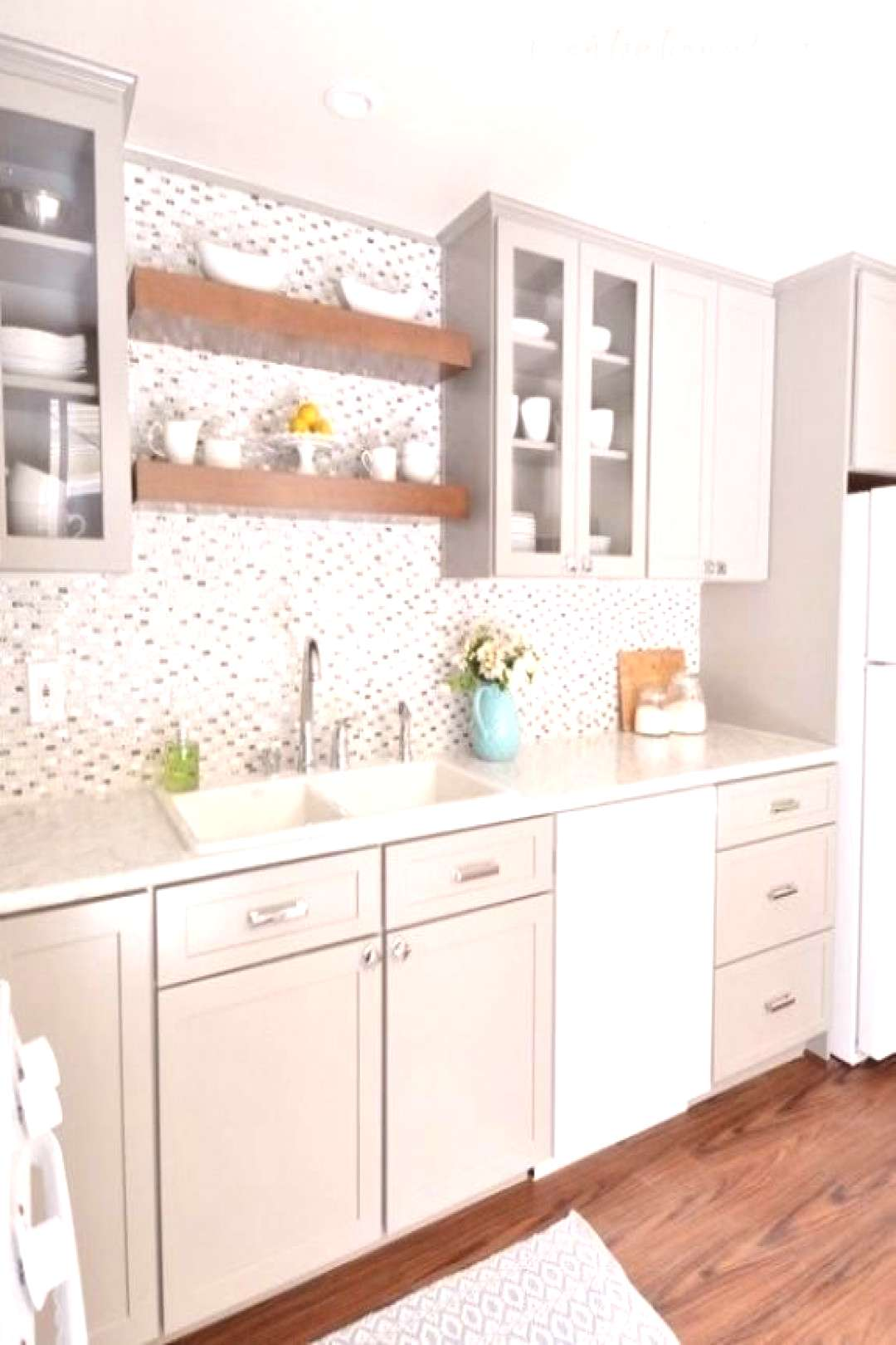 Gorgeous white kitchen cabinets Black countertops for your inspiration#black