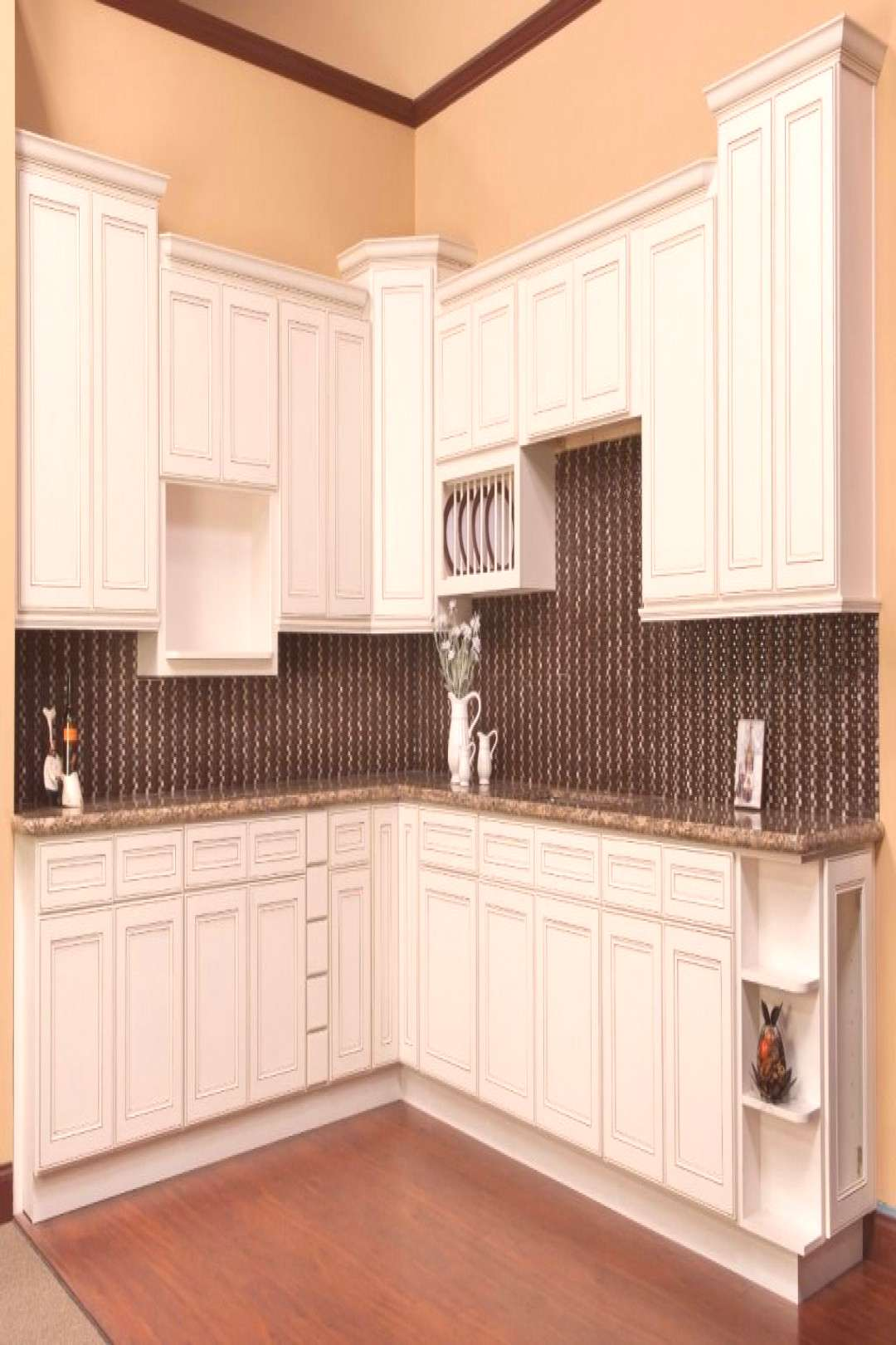 How to Apply Glazed Kitchen Cabinets#apply