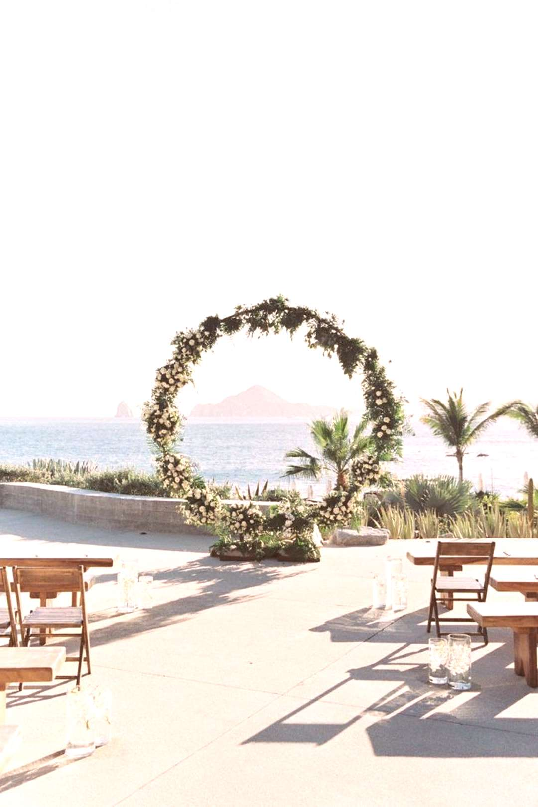 Intimate Neutral Cabo Destination Wedding - Inspired By This#cabo