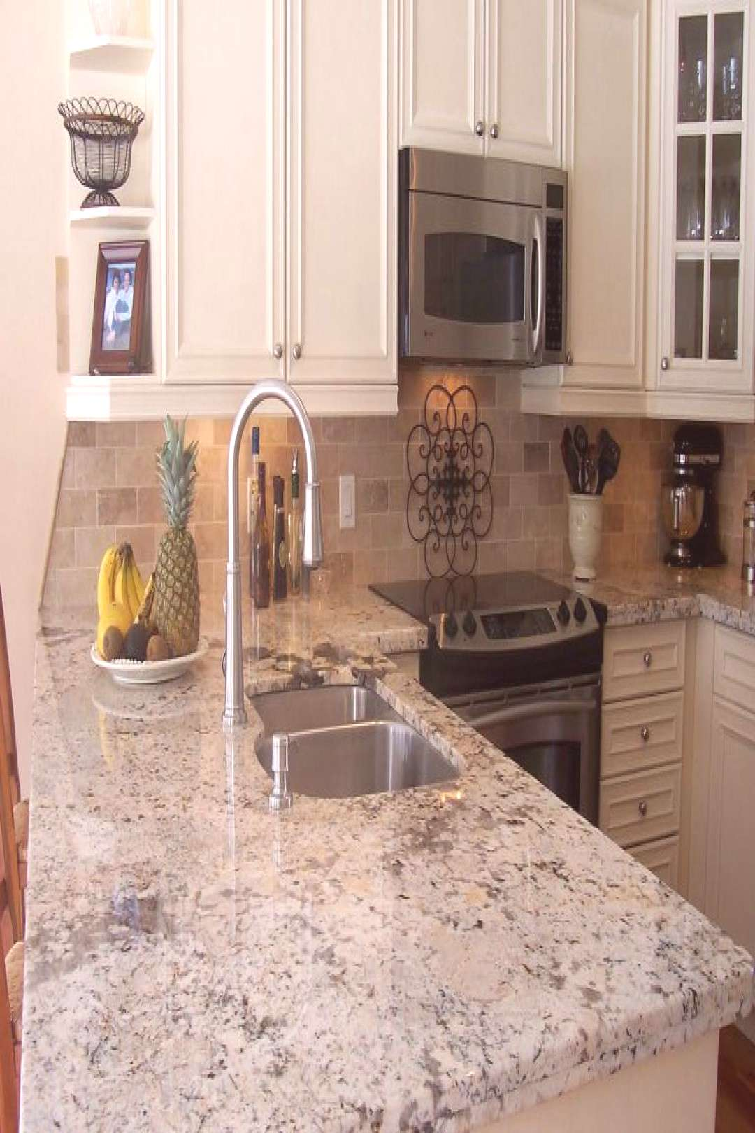 Most up-to-date Photographs Granite Countertops with white cabinets Thoughts Most up-to-date Photog