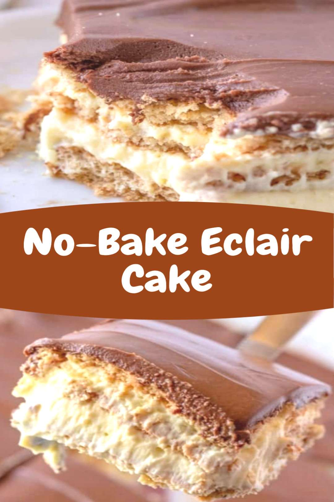 No-Bake Eclair Cake Easy No-Bake Eclair Cake Ideas, I am sure youll love them too! FOLLOW my accou