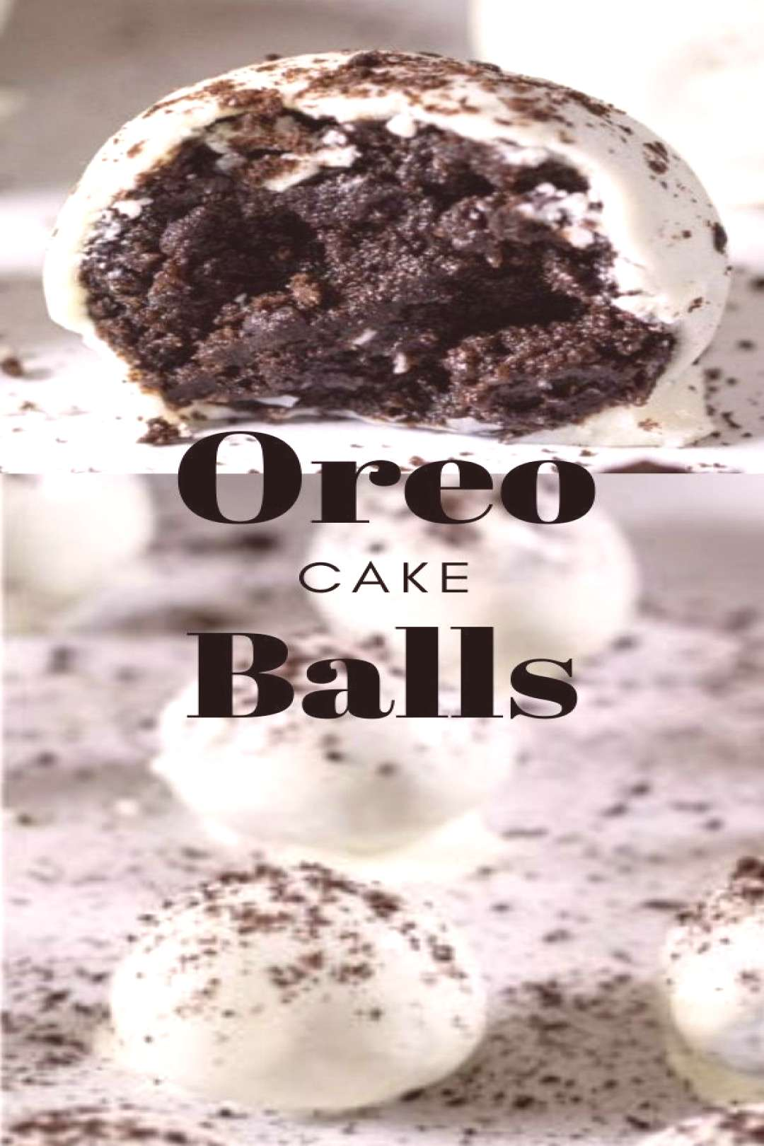 Oreo Cake Balls These Oreo Cake Balls are delicious bite-sized treats that are easy to make and no-