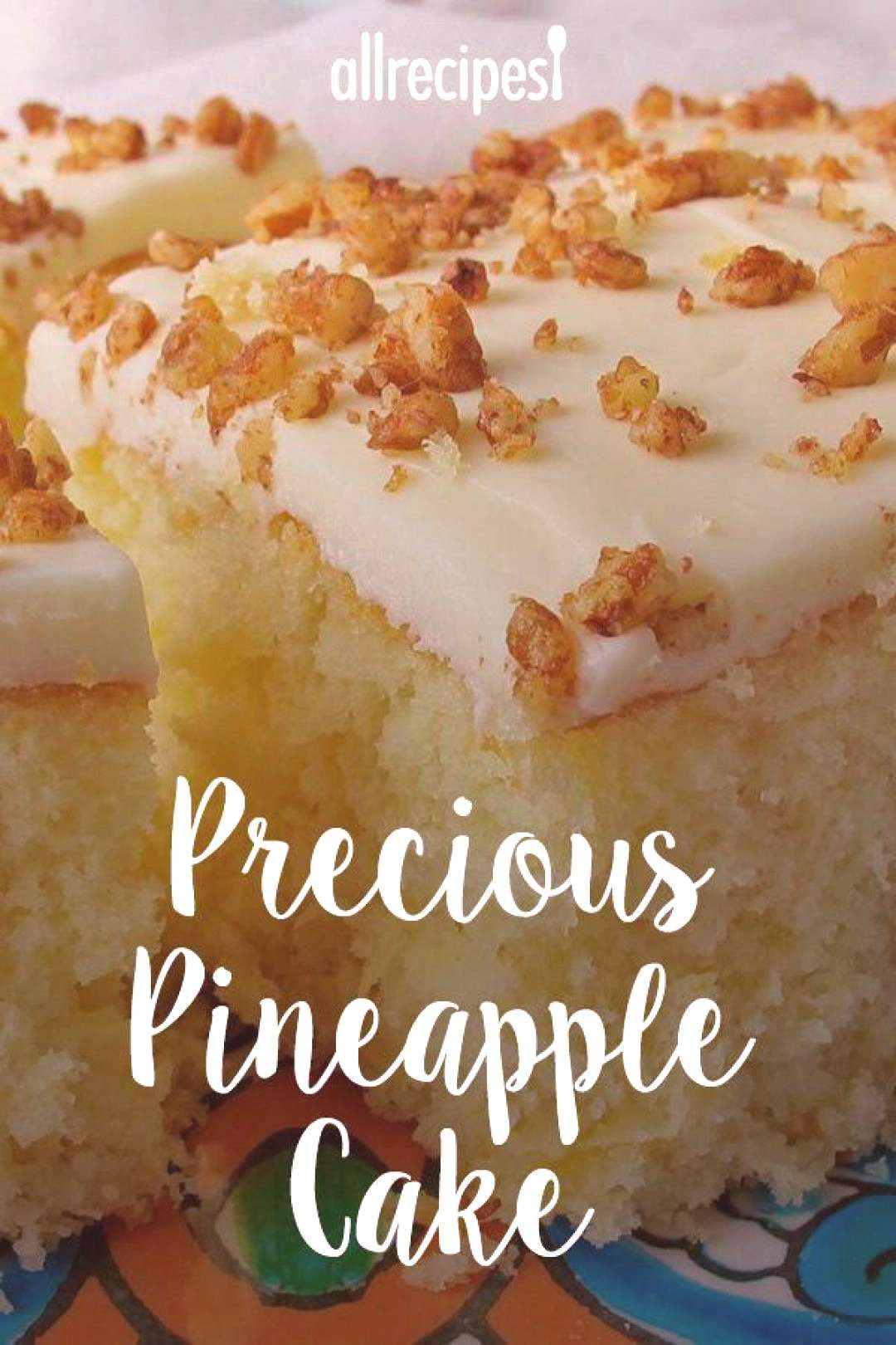 Precious Pineapple Cake   quotThis wonderful cake starts with a cake mix to which you add pineapple an