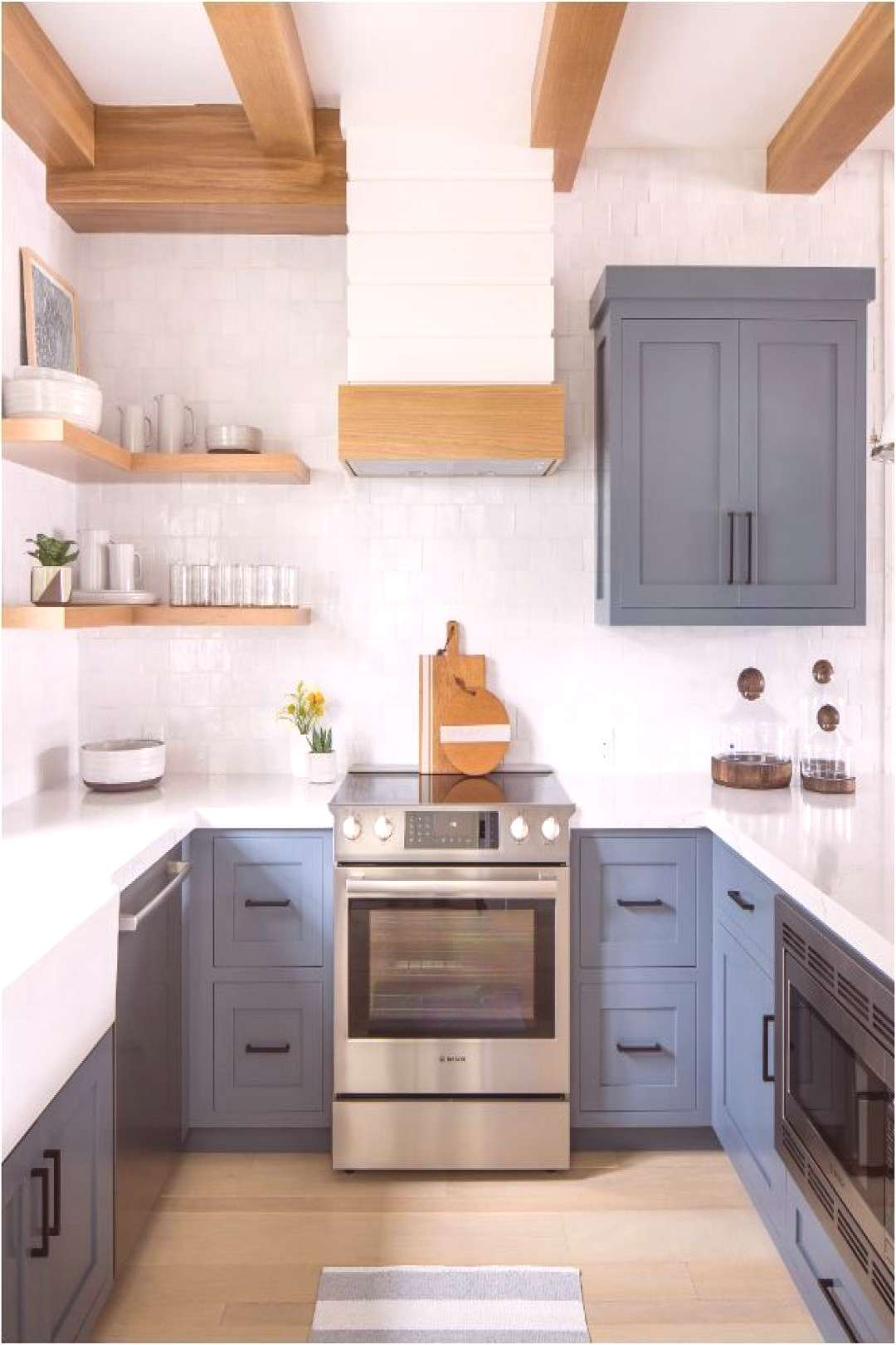Remodeling Kitchen Cabinets Forever Classic Blue Kitchen Cabinets   Centsational Style