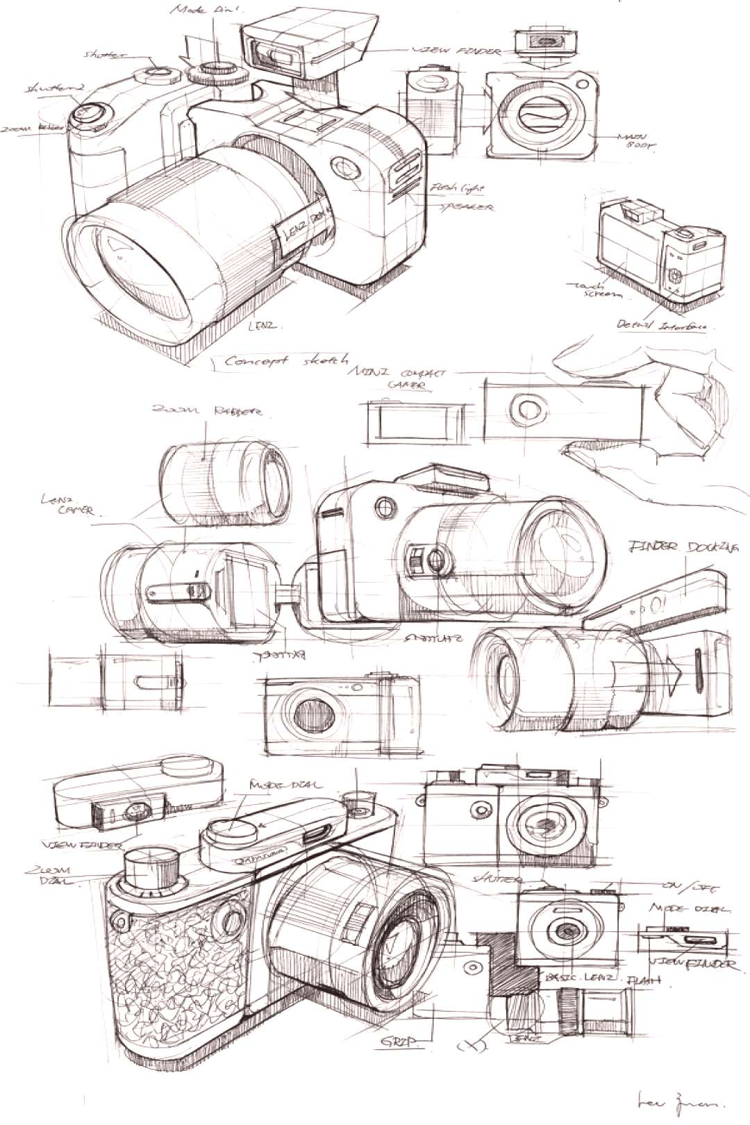 Sketch Archiving 2012 - Since electronic devices such as mobile phones, tablets and computers have