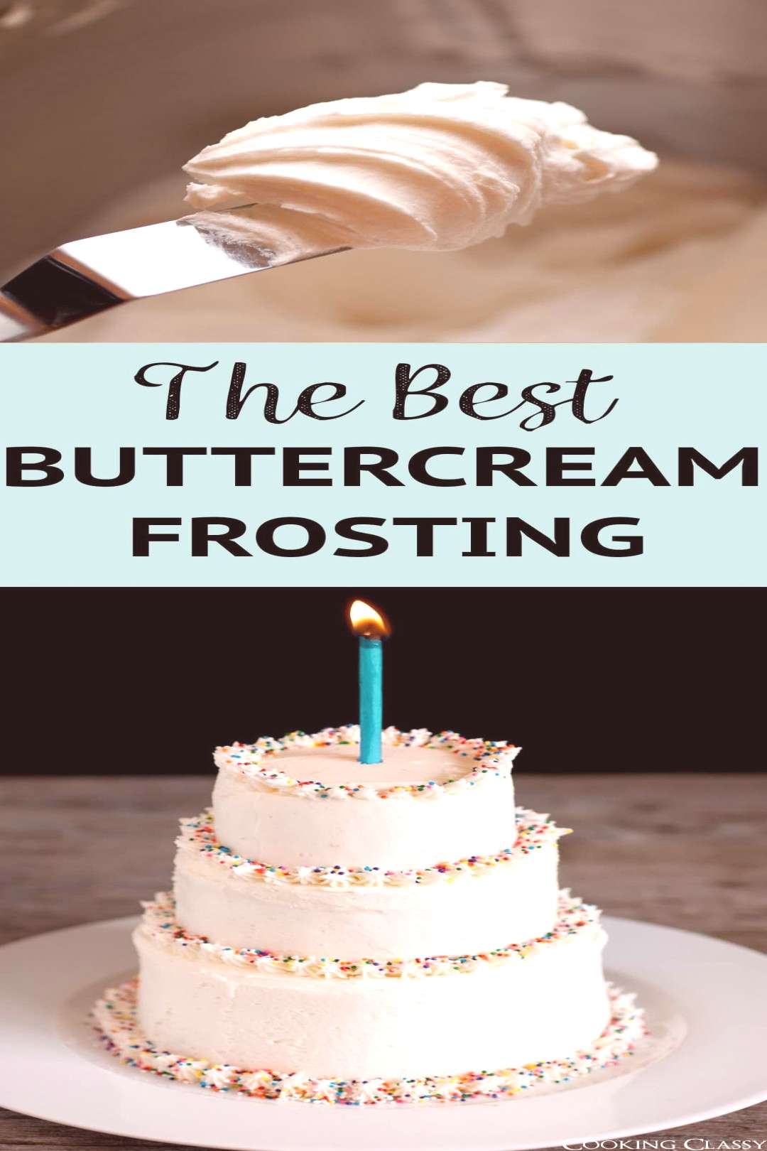 This is without a doubt, the BestButtercream Frosting recipe EVER! What sets this recipe apart is