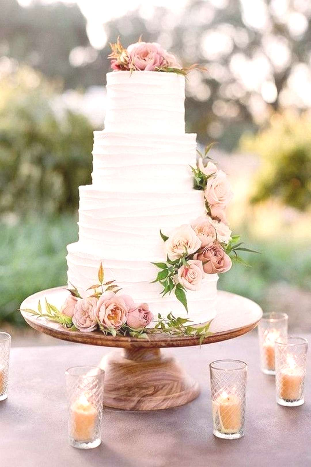 Top 20 Simple Pink Wedding Cakes for Spring Summer Weddings spring summer pink wedding cake ideas