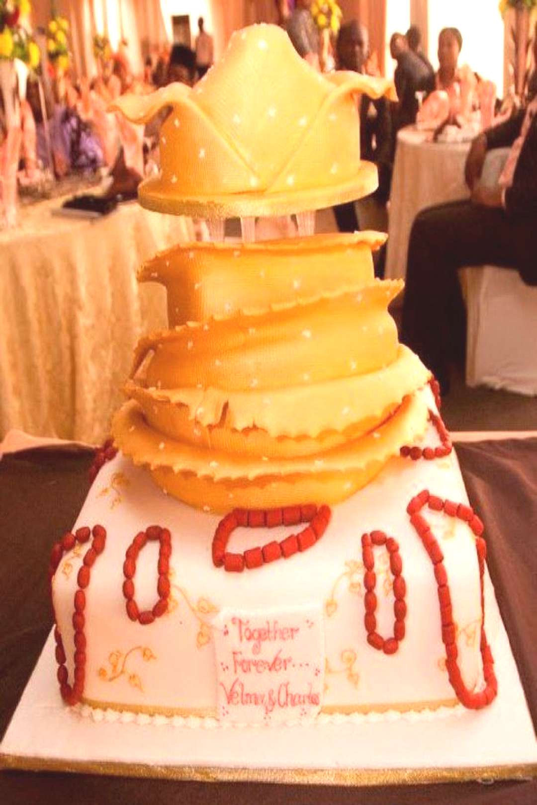 Traditional Wedding Cakes - Pictures from Weddings in Nigeria,  Best Picture For traditional wed
