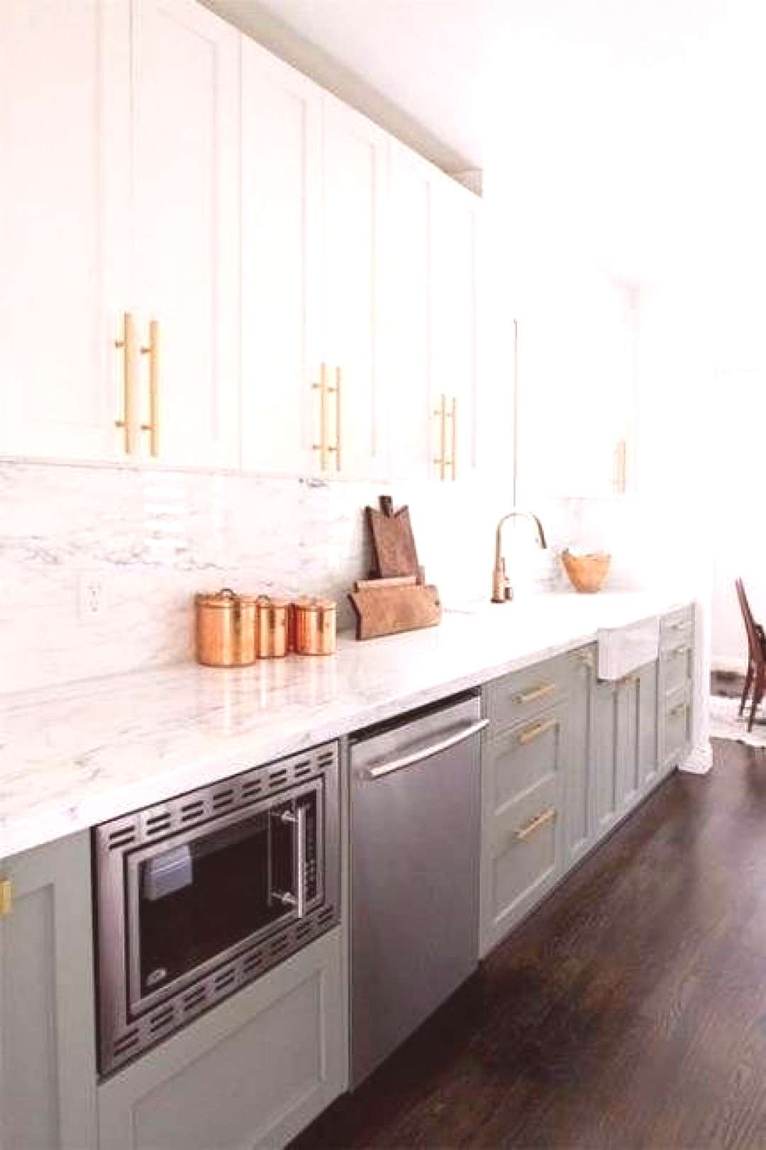Trendy kitchen cabinets painted 2 tone apartment therapy ideas