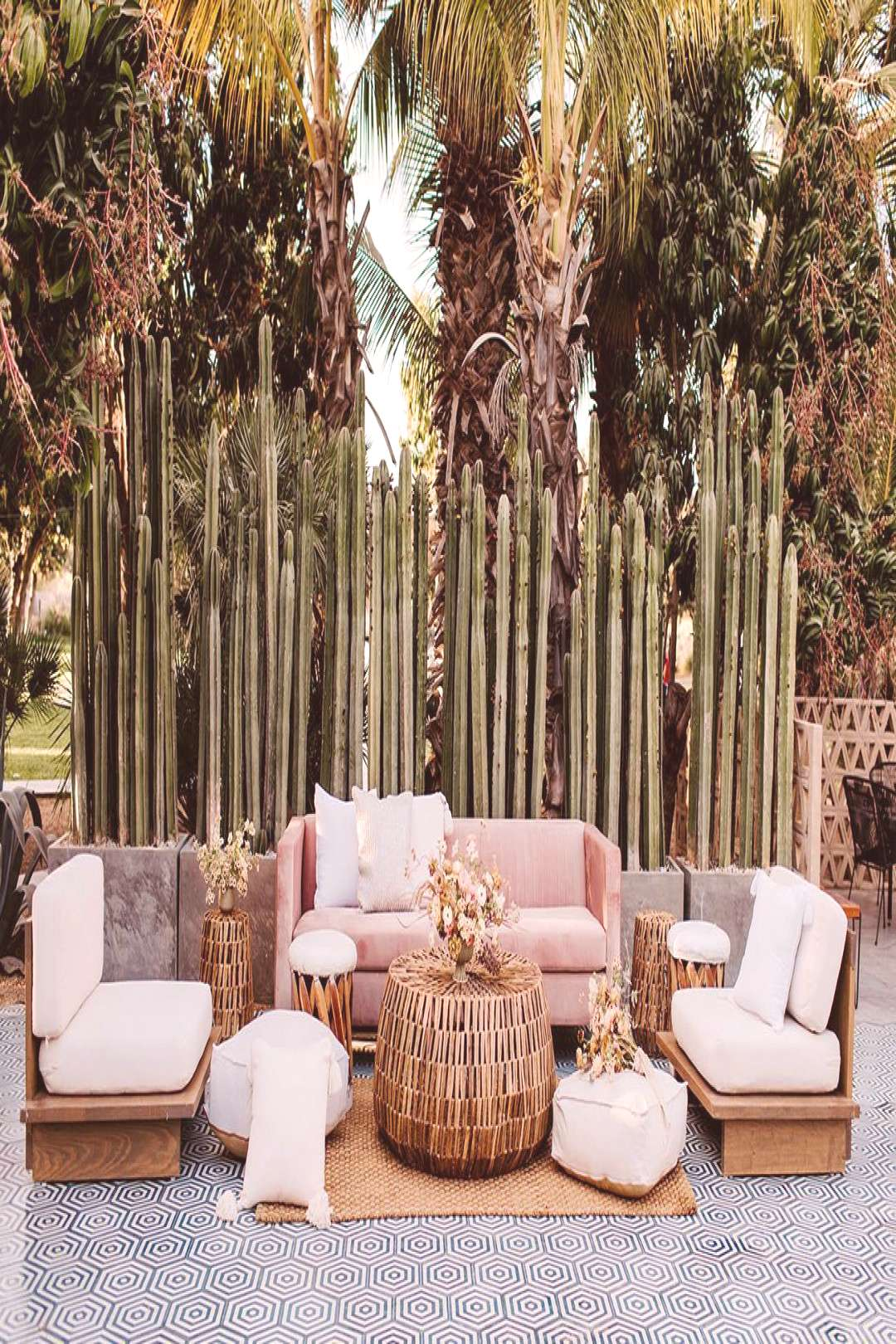 Tropical Meets Bohemian Wedding Inspiration at Acre Baja in Cabo | Green Wedding Shoes - Tropical