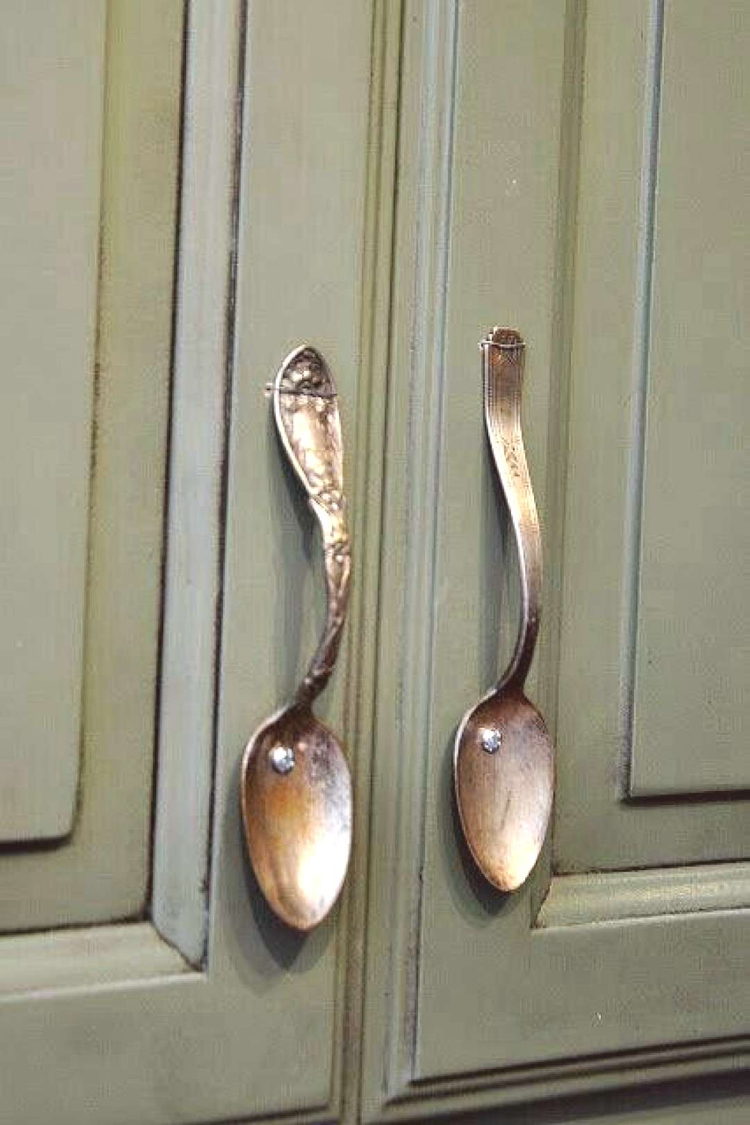 Use for vintage spoons on kitchen cabinets !, on for kitchen cabinets ... -