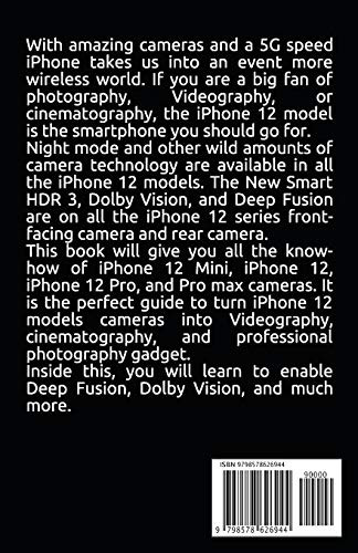 Users Guide for iPhone Photography How to master iPhone 12